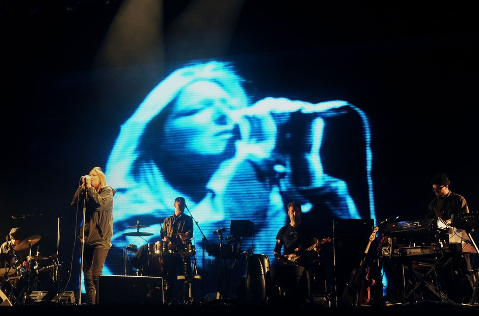 Portishead at Glastonbury 2013