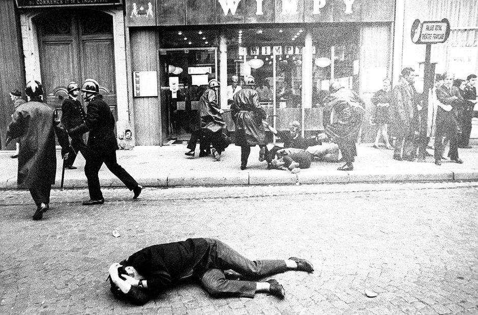 Paris May 1968 Riots