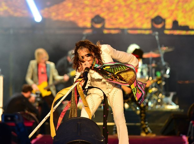 Aerosmith at Download Festival 2014