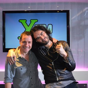 Jon Holmes and Russell Brand 2014