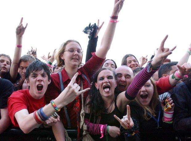 Emo Metal Fans Download festival 2003