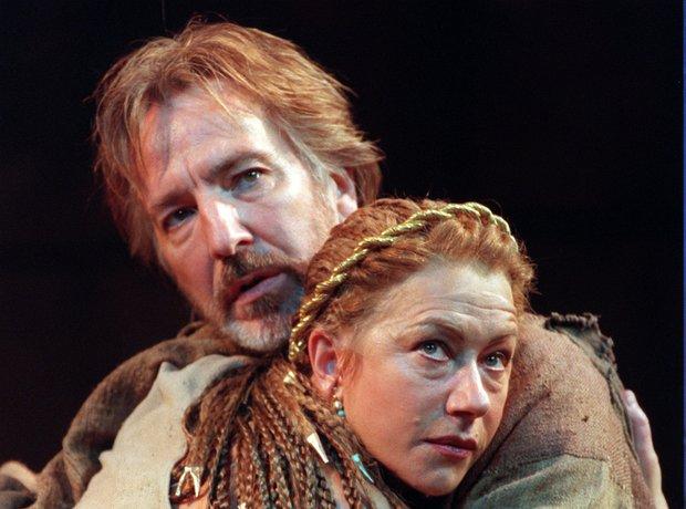 Alan Rickman and helen Mirren