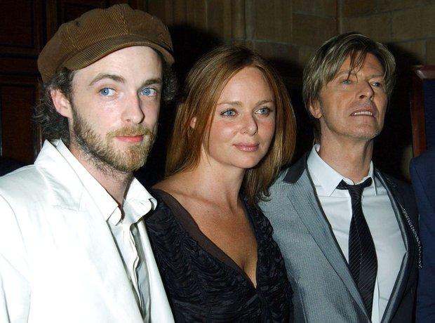 Fran Healy of Travis, Stella McCartney and David B