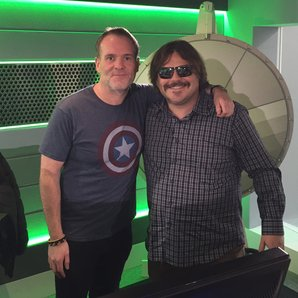 Chris Moyles and Jack Black The Chris Moyles Show