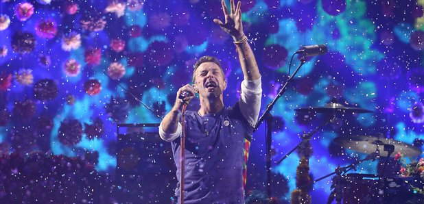 Coldplay Brit Awards 2016 Live Performance