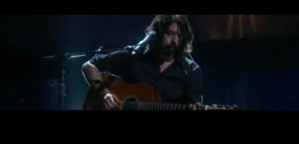 Dave Grohl Oscars performance 2016