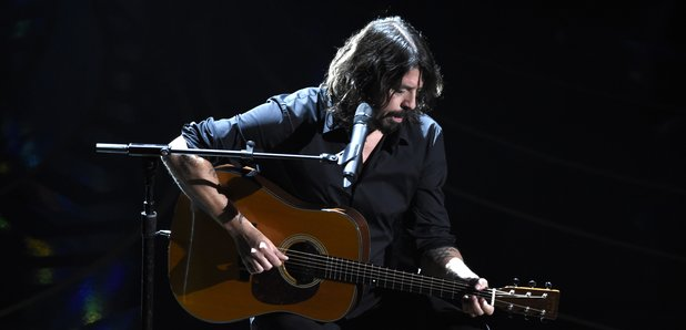 Dave Grohl performs at the Oscars