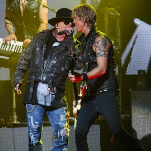 Axl Rose and Duff McKagan Guns N' Roses