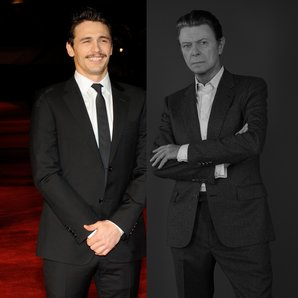 James Franco David Bowie splitscreen