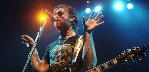 Jesse Hughes Eagles Of Death Metal on stage Januar