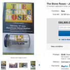 The Stone Roses Jar on Ebay
