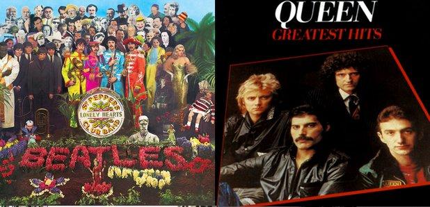 Best album of the last 60 years album artworks