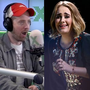 Ricky Wilson and Adele Splitscreen