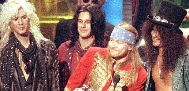 Guns N' Roses at the 1992 MTV Awards