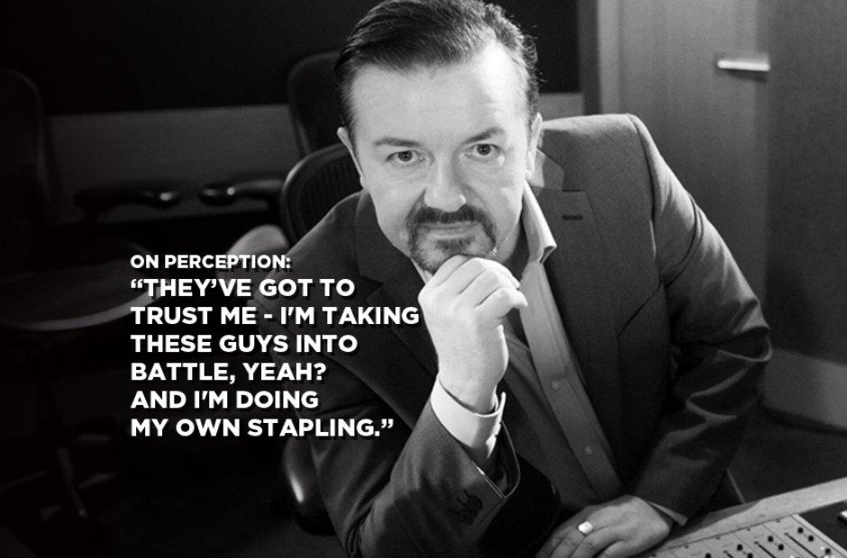 David Brent On Perception