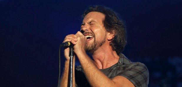 Eddie Vedder, of Pearl Jam