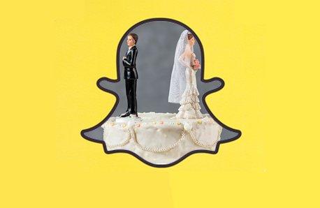 Snapchat divorce image