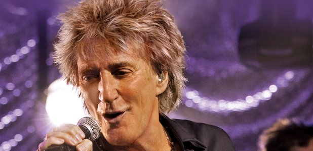 Rod Stewart Isle Of Wight press image