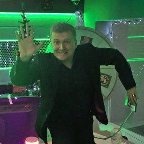 Chris Moyles Show Christmas Lights