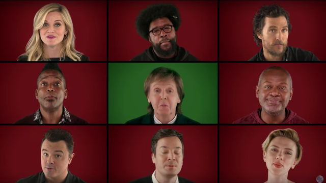 WATCH: Paul McCartney Performs Wonderful Christmastime ...