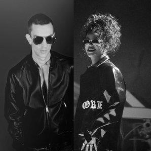 Richard Ashcroft Rihanna split image