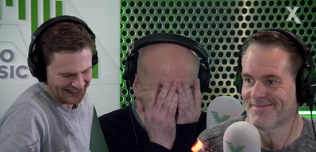 Chris Moyles Dom Dave apology prank