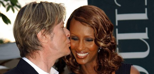 David Bowie wife Iman 2002