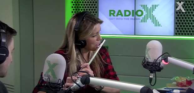 Pippa plays Red hot Chili Peppers On The Flute