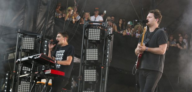 Alt-J performing in 2015