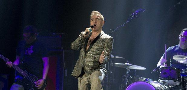 Morrissey performing 2017