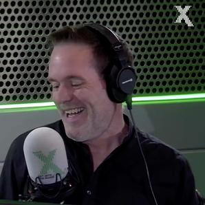 Vernon Kay calls into the Chris Moyles show
