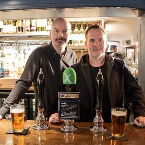 Chris Moyles and Dominic Byrne make the Radio X be