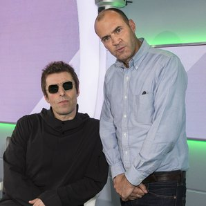 Liam Gallagher and Johnny Vaughan 2017