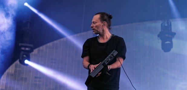 Thom Yorke and Radiohead performing 2017