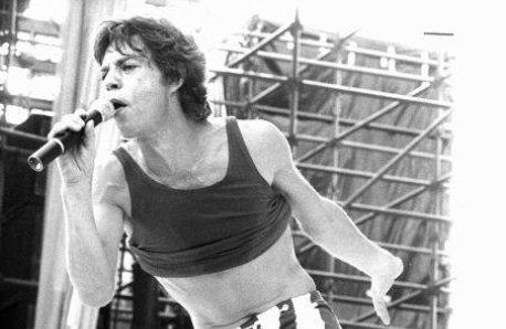 Mick Jagger in Munich 1969