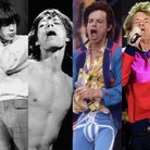 Mick Jagger Through The Years