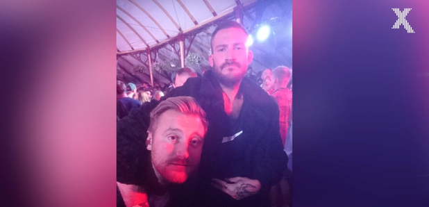 Toby and his Conor McGregor double