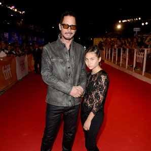 Chris Cornell and his daughter Toni