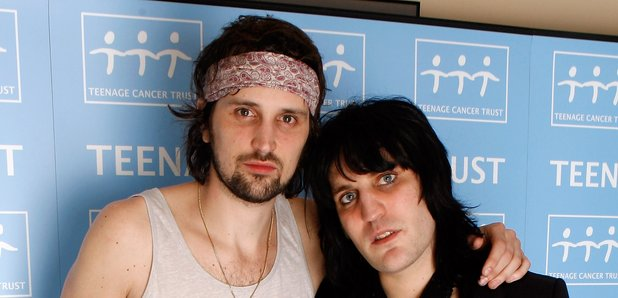 Serge Pizzorno of Kasabian and Noel Fielding in 20
