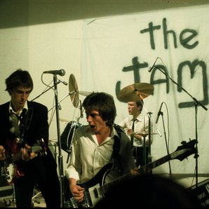 The Jam performing in 1976