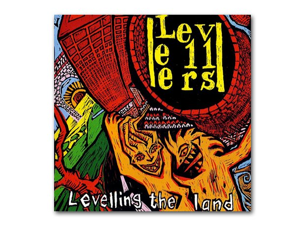 The Levellers - Levelling The Land album cover